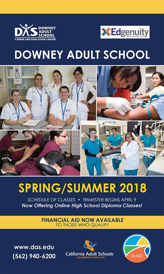 Catalog - Downey Adult School